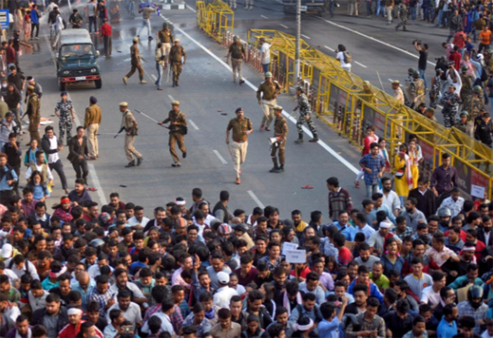 India deploys troops to curb violent protests over citizenship law