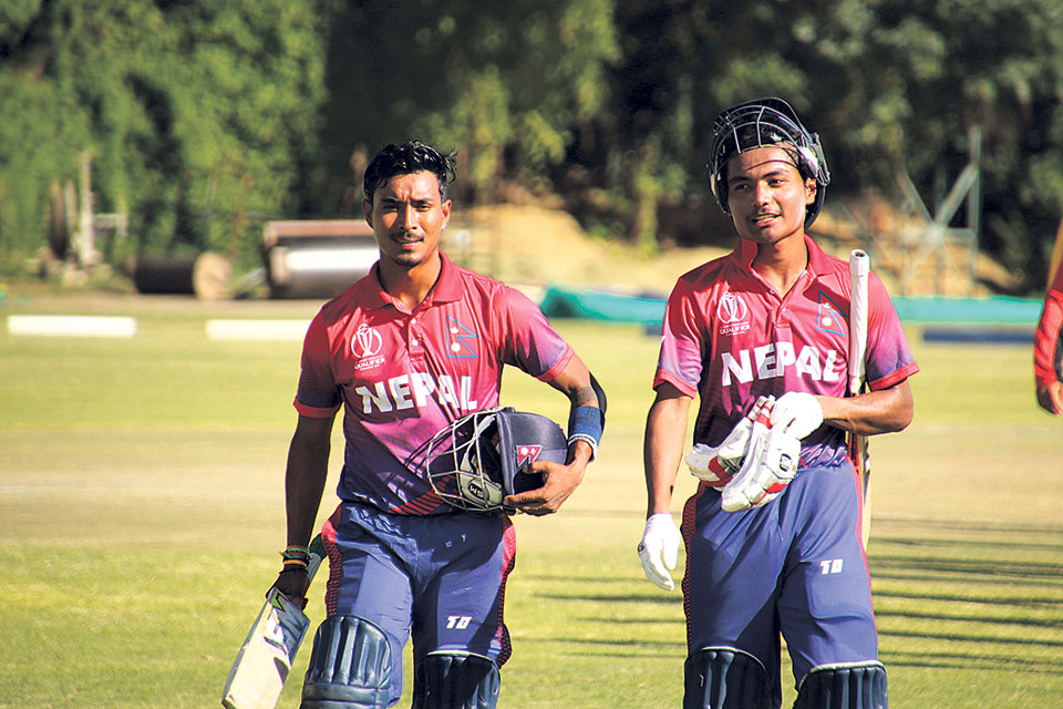 Nepal topples Hong Kong to register first win, to face PNG for ODI status