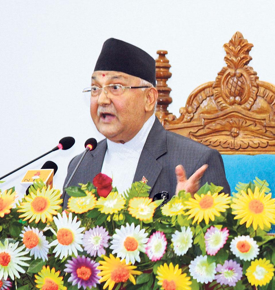 Oli assures Madhesis of constitutional amendment