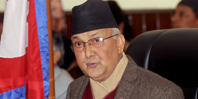 Oli urges government to be bold enough