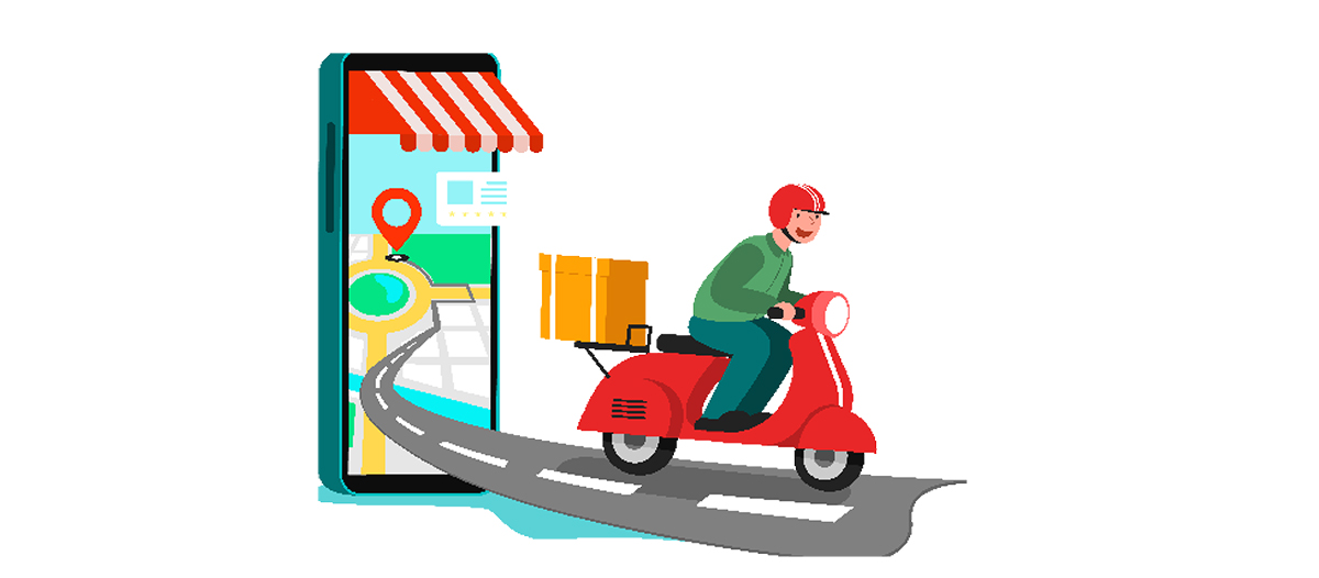Digital delivery service: slow but steady growth