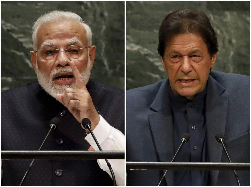 Pakistan PM warns of 'bloodbath' in Kashmir; India PM silent