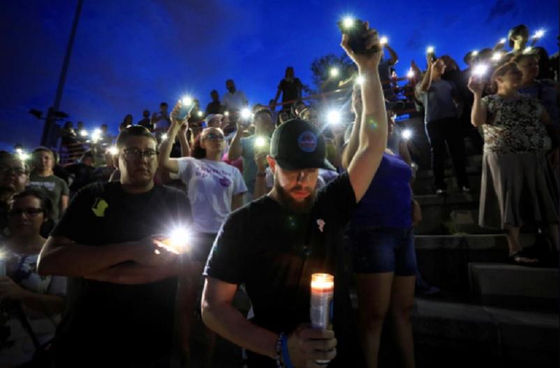 Democrats target Trump rhetoric after deadly mass shootings