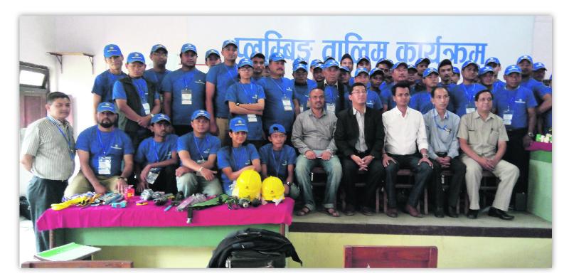 Panchakanya Group completes plumbing training