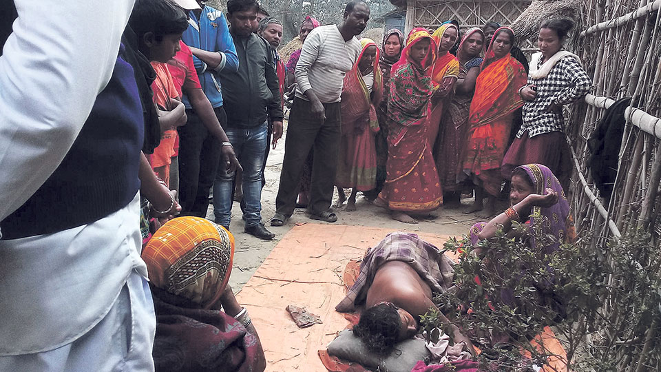 Wild elephant kills two women in Saptari