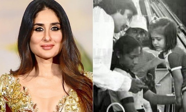 Amitabh Bachchan shares throwback picture with little Kareena Kapoor Khan