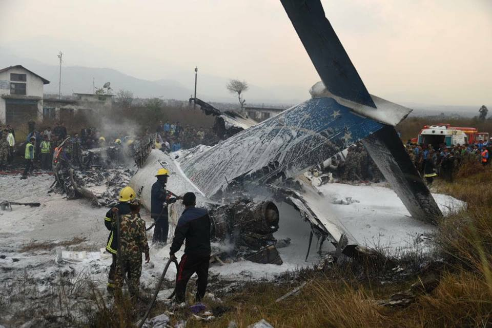 Over 50 feared dead, several injured as US-Bangla aircraft crashes at TIA (With video)