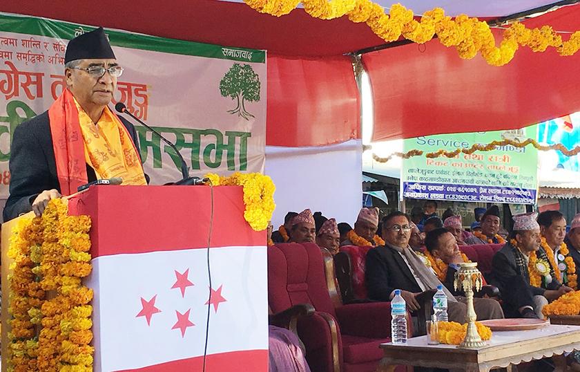 Leftist alliance formed as anti-democratic force : PM Deuba