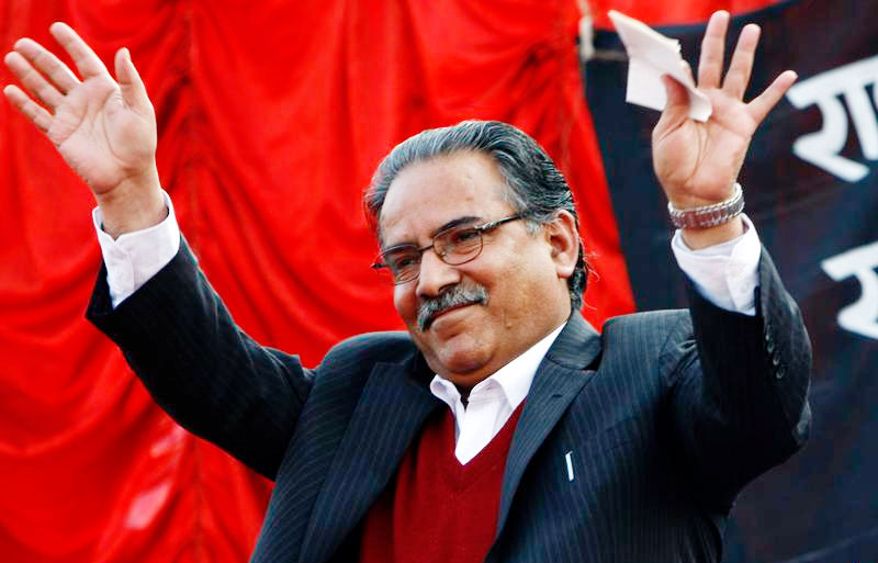 Dahal against forming govt outside left alliance