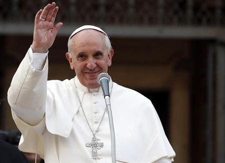 Mideast needs two-state solution, Pope says in Christmas message