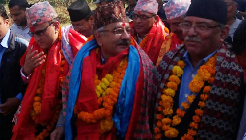Dahal confident on Left Alliance victory