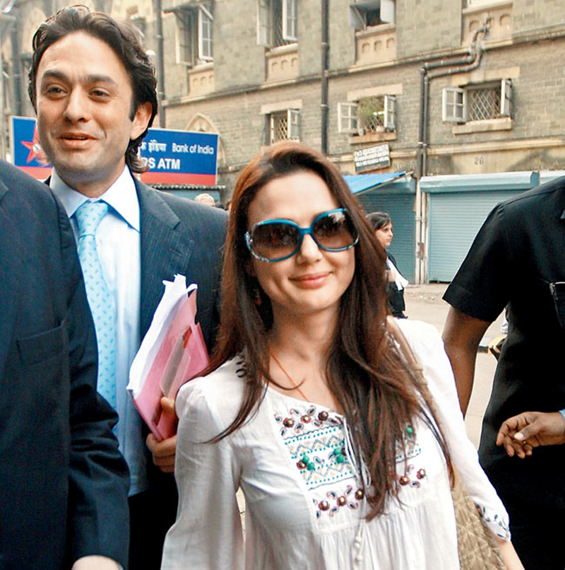 Preity Zinta, Ness Wadia let bygones be bygones, celebrate Kings XI Punjab win together