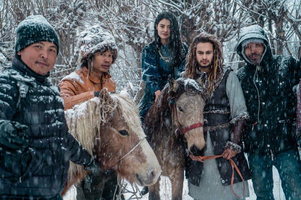 'Prem Geet 3' filming in frozen Manang