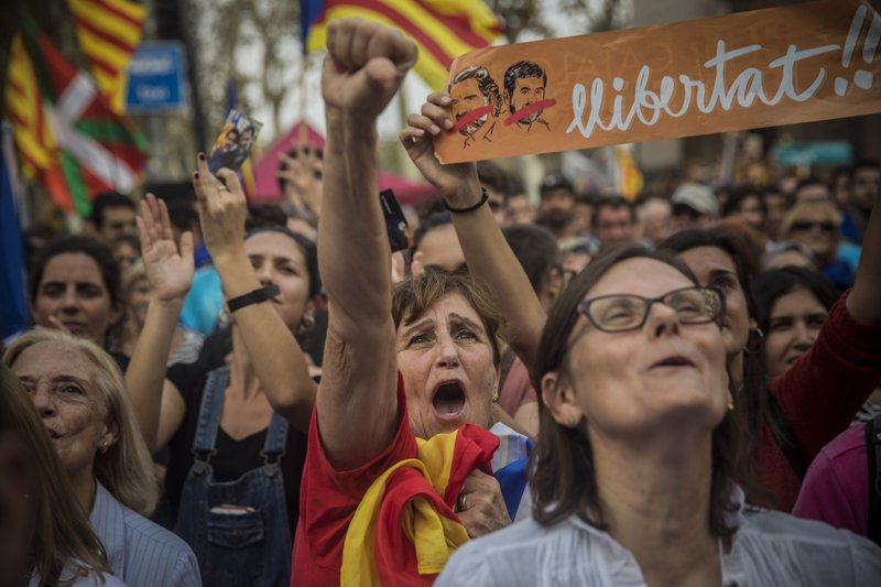 Pro-independence Catalans: 'I've never felt Spanish'