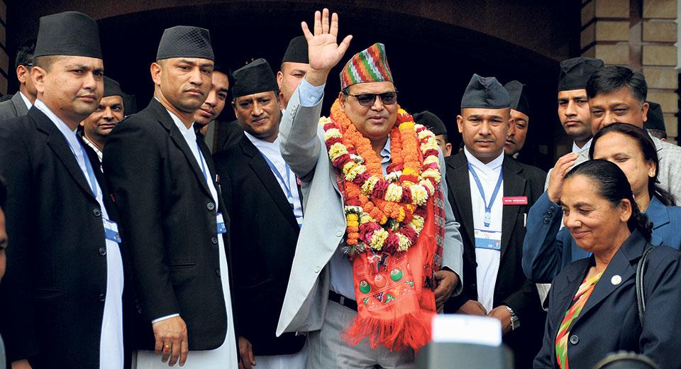 Mahara elected speaker unopposed
