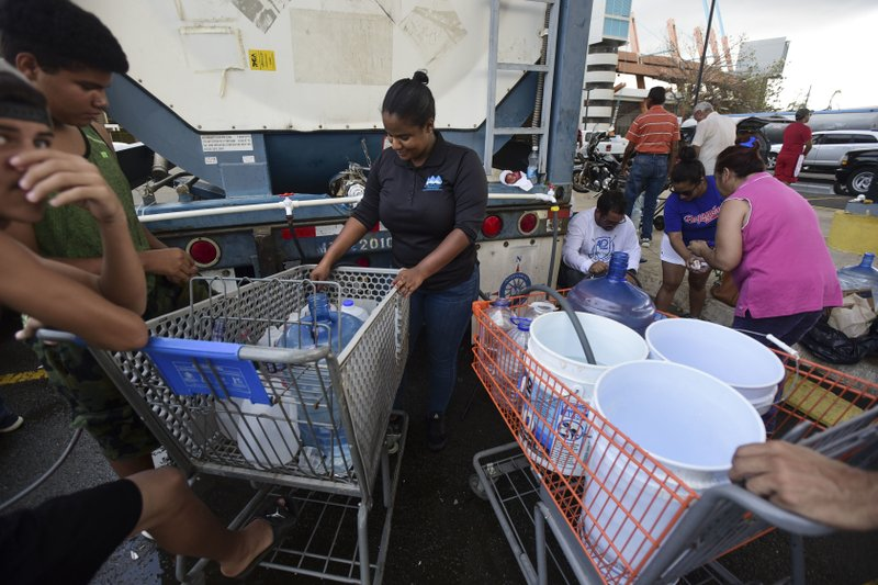 Puerto Ricans say US relief efforts failing them