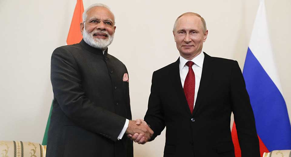 Russia ready to consider joint work with India in energy projects – Putin
