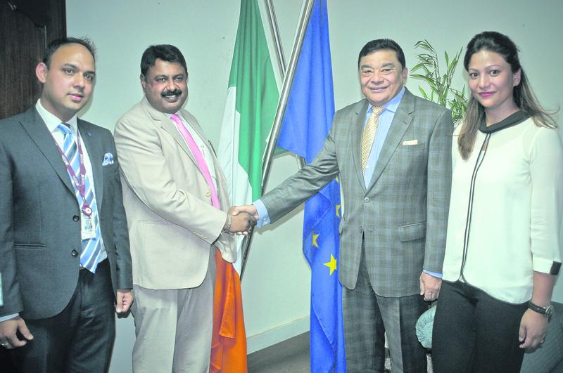 Qatar Airways starts direct flight to Dublin from Kathmandu