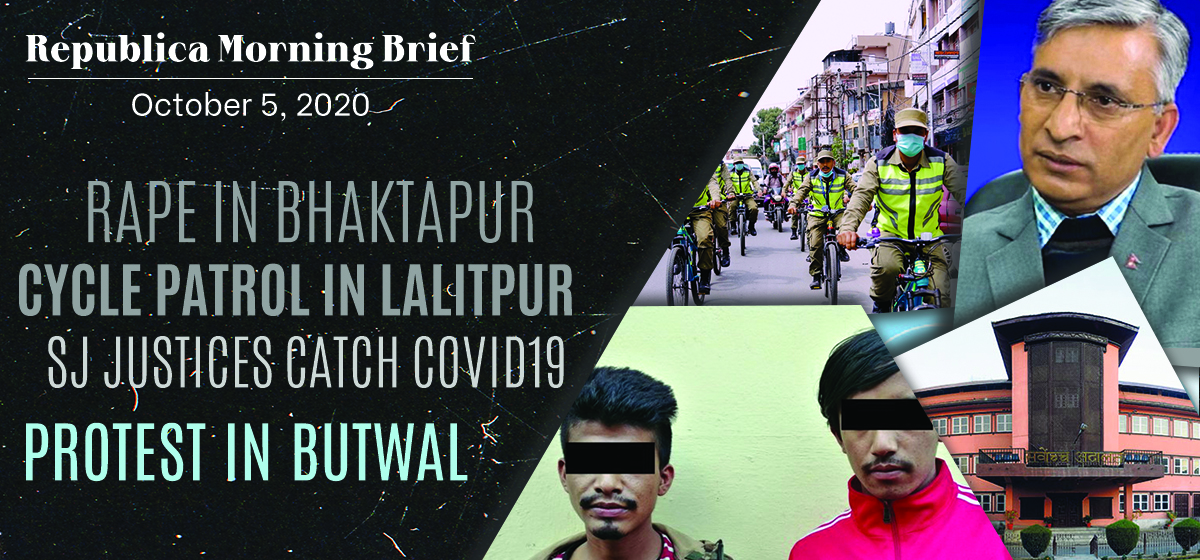 Republica Morning Brief: Oct 4