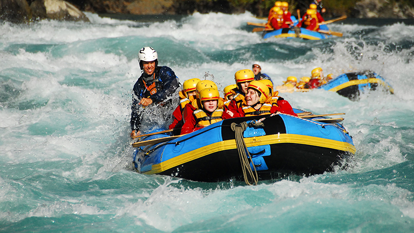 River rafting begins to promote Nepal Visit Year 2020