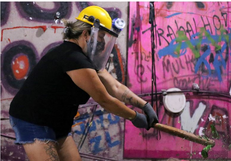 Feeling angry? The 'Rage Room' opens in Sao Paulo