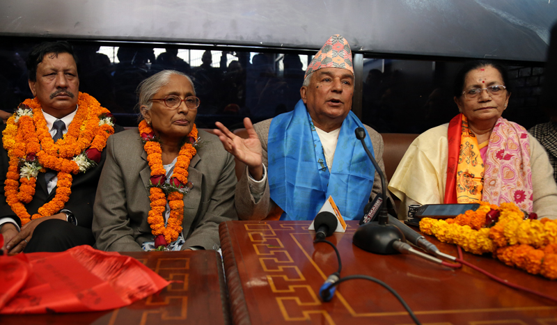 NC leader Poudel stresses need for political unity to resolve crisis
