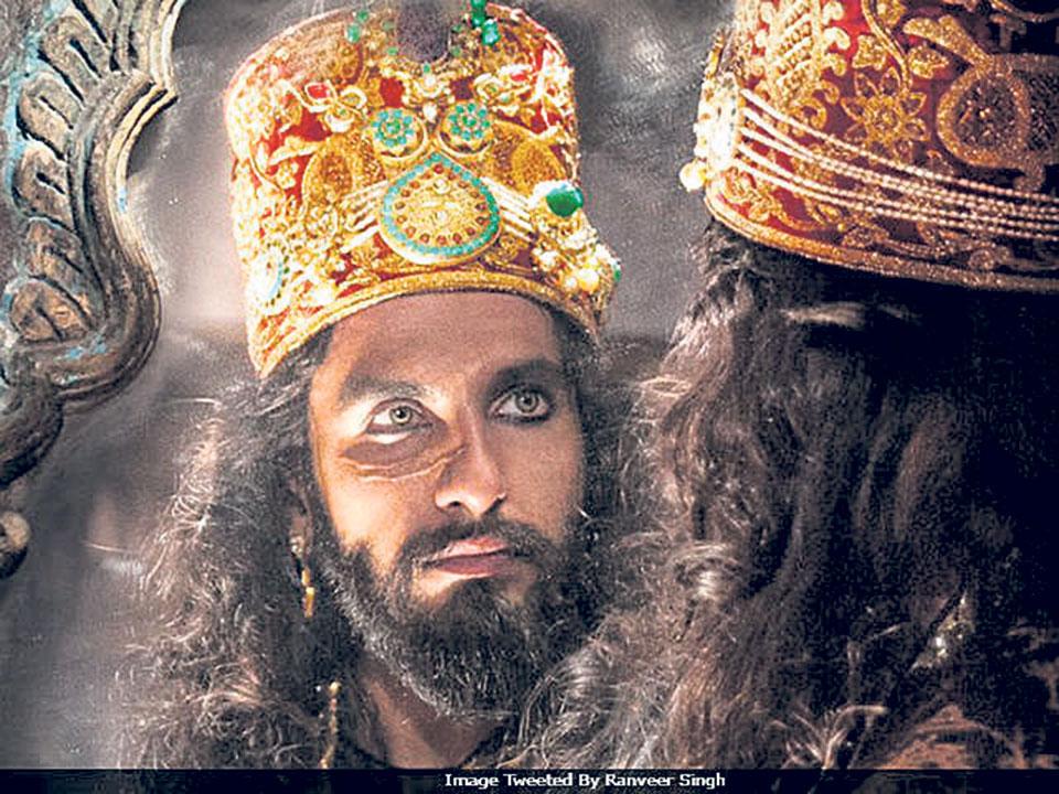 Ranveer's vicious avatar in 'Padmavati' first look
