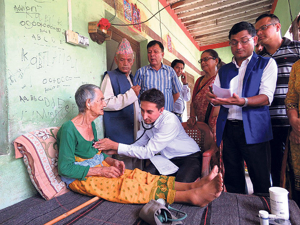 Elderly to receive health services at home