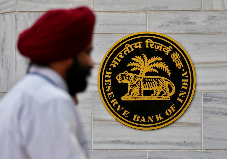 RBI intervenes as Indian rupee falls to near record low