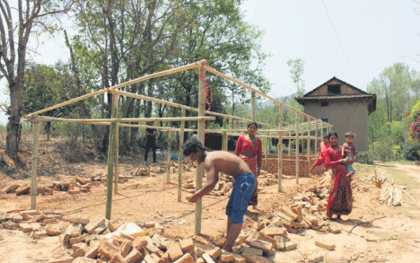 41,311 houses rebuilt in quake-hit districts