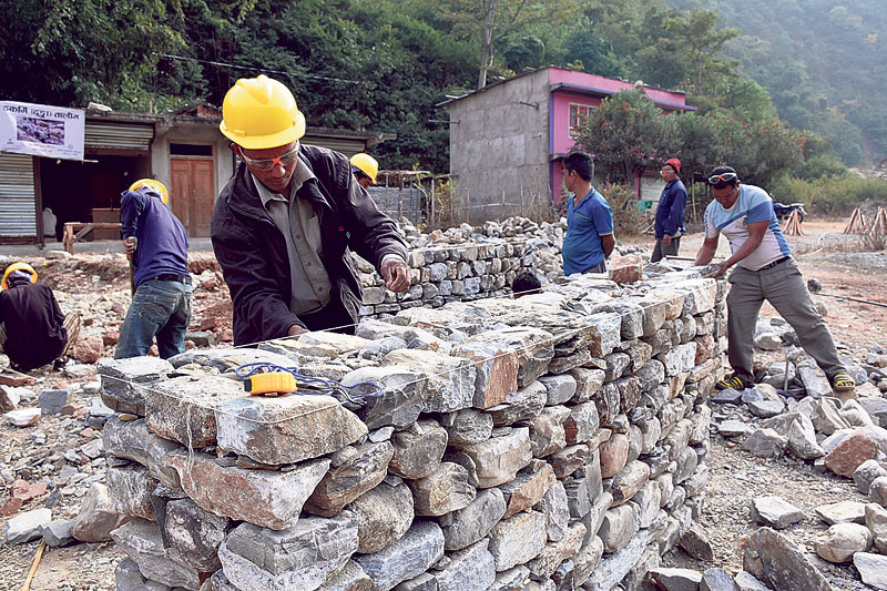 81 percent post-quake reconstruction completed in Khotang