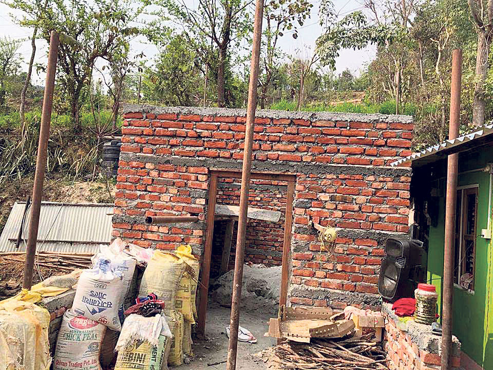 Reconstruction messed up in Dhading