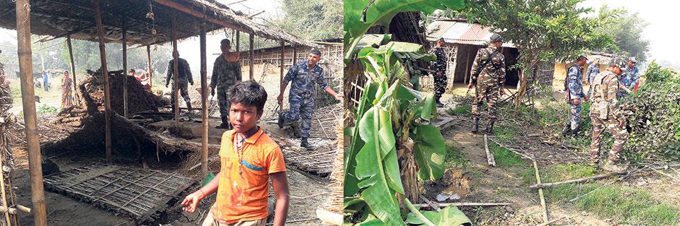 23 border pillars swept away by Saptakoshi yet to be restored