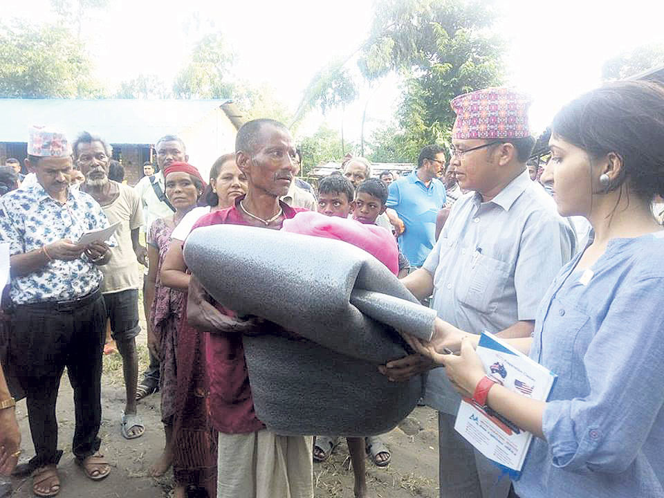 Flood victims laud local representatives' prompt response
