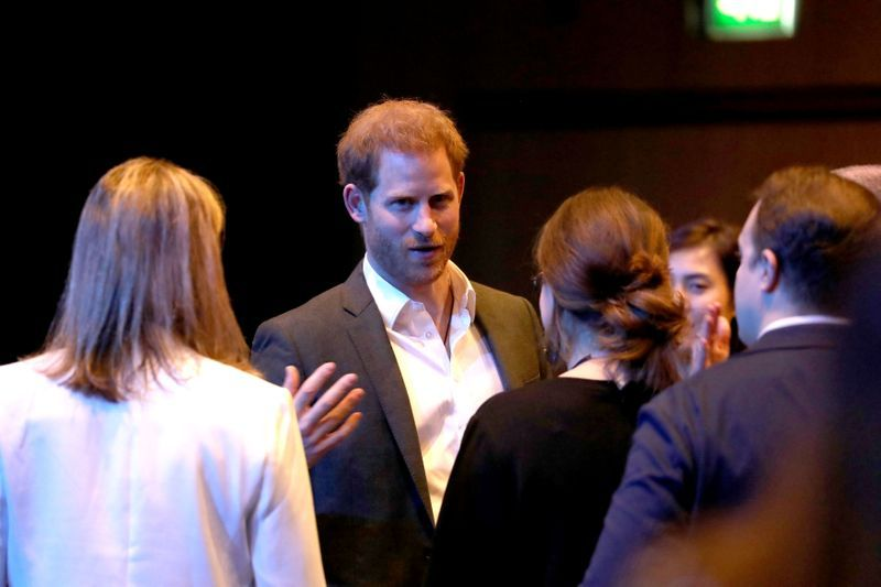 'Call me Harry,' says informal UK prince as he starts last round of royal duties