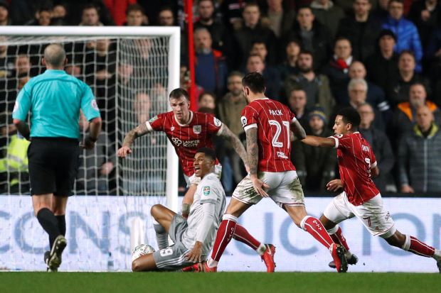 Man United knocked out by Bristol City in League Cup shock
