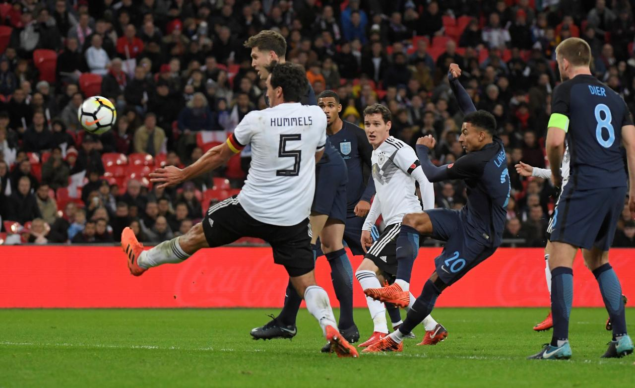 Young England side earn goalless draw with Germany