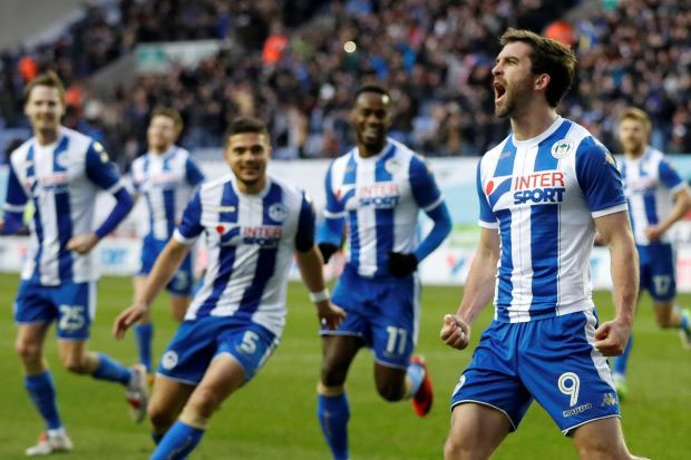 'Grigg's On Fire' again as Wigan stun West Ham in FA Cup
