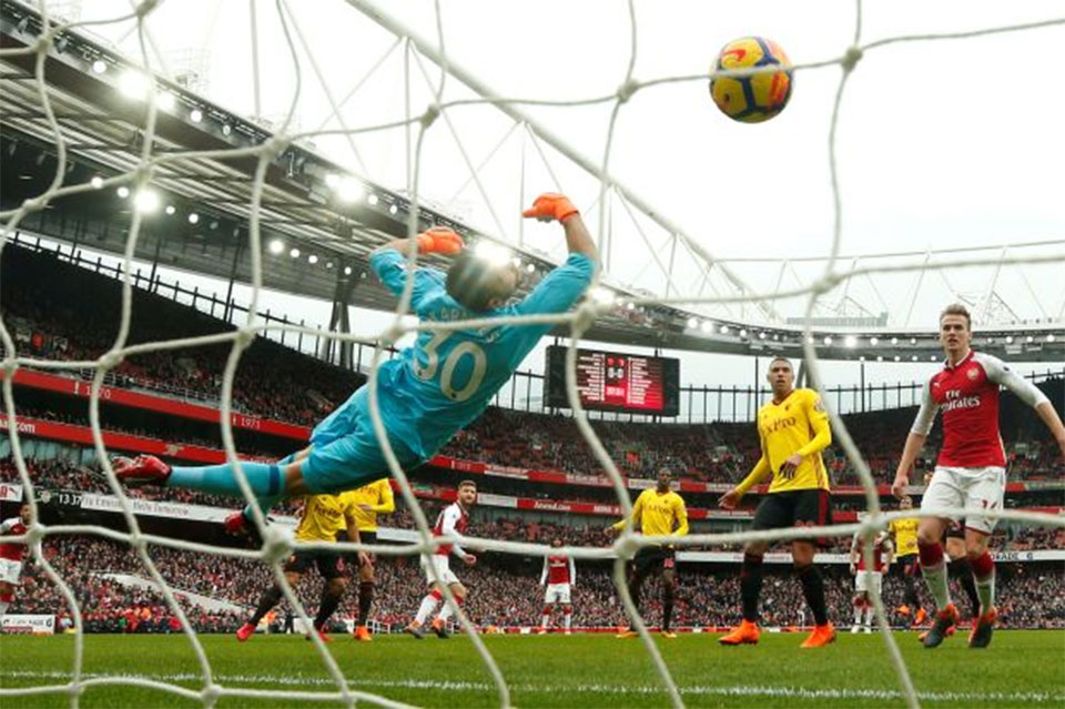 Arsenal beat Watford 3-0 for first clean sheet in 12 league matches