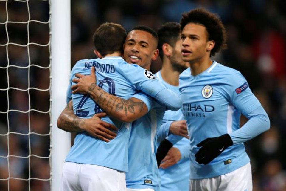 Manchester City ease through despite rare home loss to Basel