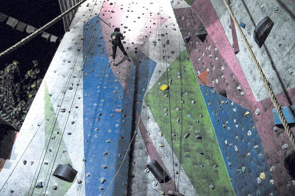 Wonders of rock climbing