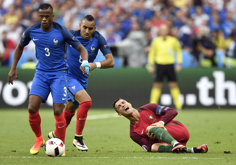 Euro 2016 final again proves football's cruelty