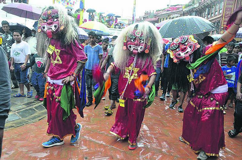 Ropain Jatra fervor grips Kathmandu