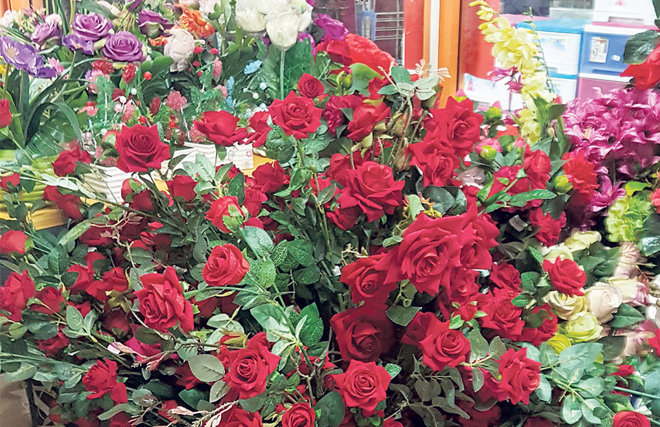 Demand for rose increases for Valentine's Day