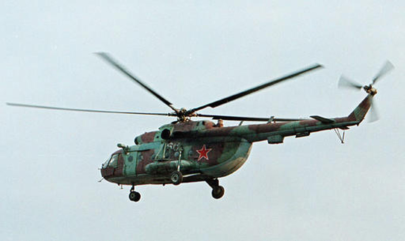 5 Russians on helicopter downed in Syria killed