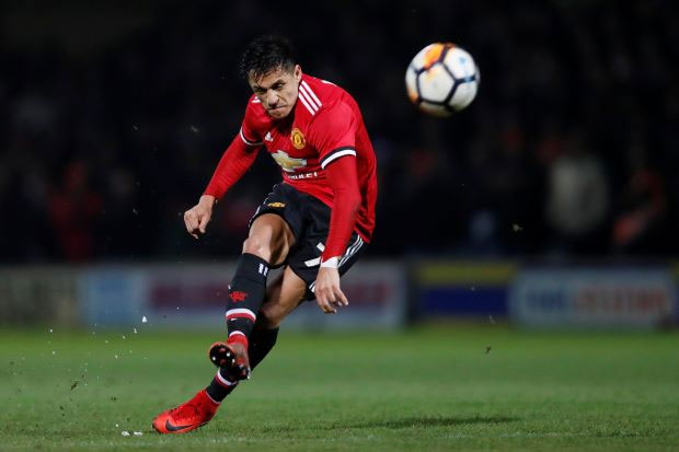 Sanchez stars on debut to help Man United progress past Yeovil