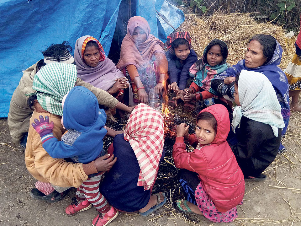 It's not cold, but poverty that kills: Saptari locals