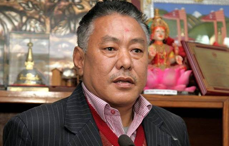 'Gauchan had informed police about threats by unidentified groups'