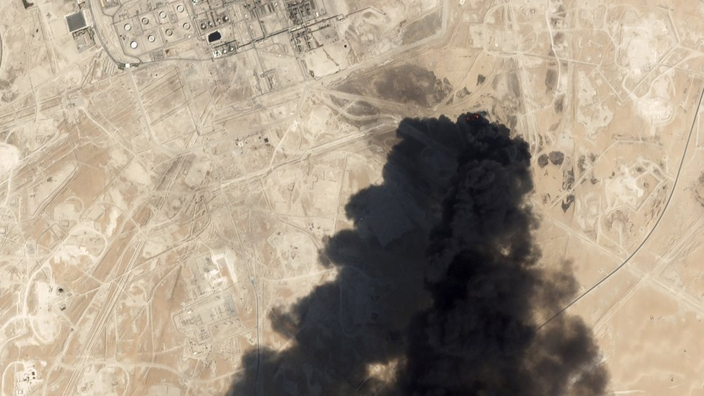 Saudi Oil Output Cut in Half after Drone Attacks