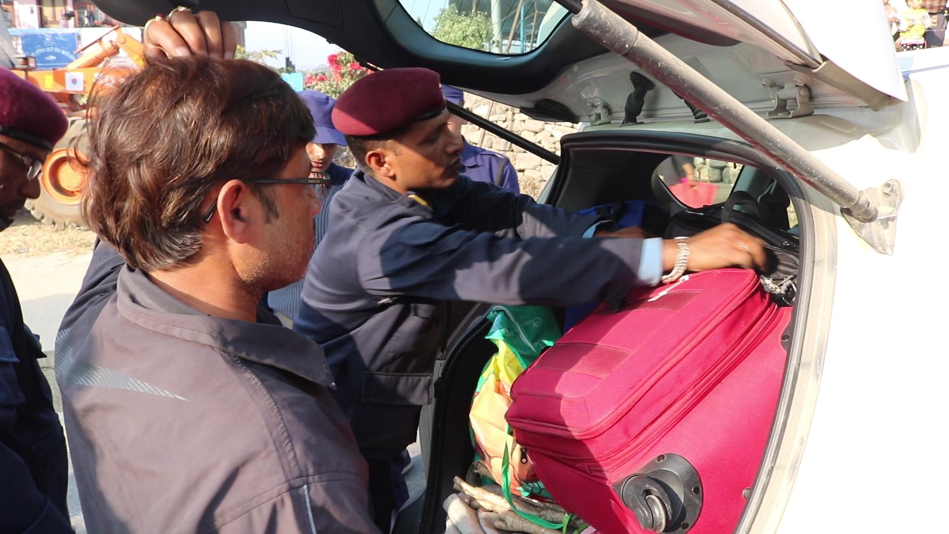 Police tighten security check in highways